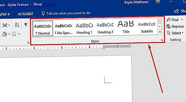 Si le gustan los documentos bien formateados, le encantará esta función de Microsoft Word.  Puede automatizar el formateo con la función Estilos.