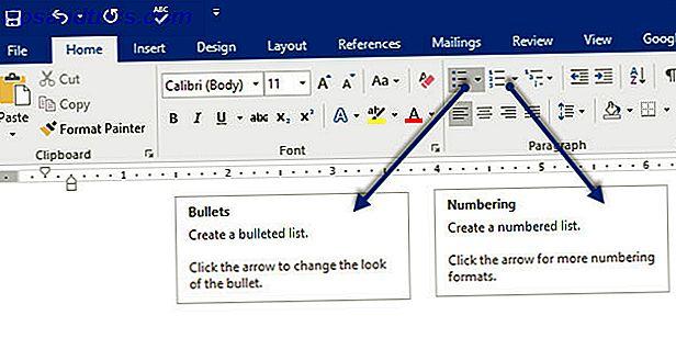 Comment mettre en forme et gérer des listes dans Microsoft Word