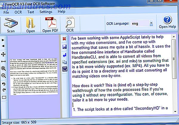 Als je heel veel papier hebt, hoe krijg je dan al die afgedrukte tekst omgezet in iets dat een digitaal programma kan herkennen en indexeren?  Houd een goede OCR-software in de buurt.