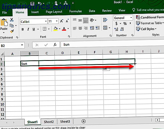 ¿A menudo tiene que completar los mismos conjuntos de datos en sus hojas de cálculo de Excel?  Simplemente cree una lista personalizada y use Autocompletar para aplicarla.