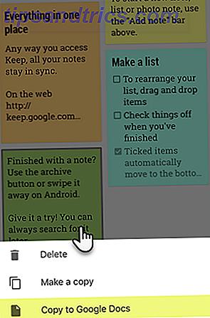 Wussten Sie, dass Sie mit Google Notizen auf Ihrem Telefon auch Notizen mit anderen Apps teilen können?