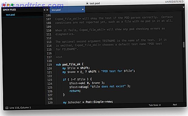 Un fichier POD est l'ancienne documentation du langage de programmation Perl.  Nous vous montrons comment convertir POD en PDF, HTML, Markdown, LaTeX, ou en texte brut.