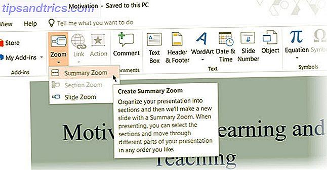 Integrer mere interaktivitet i dine Microsoft PowerPoint-præsentationer ved hjælp af funktionen Opsummeringszoom i Office 365.