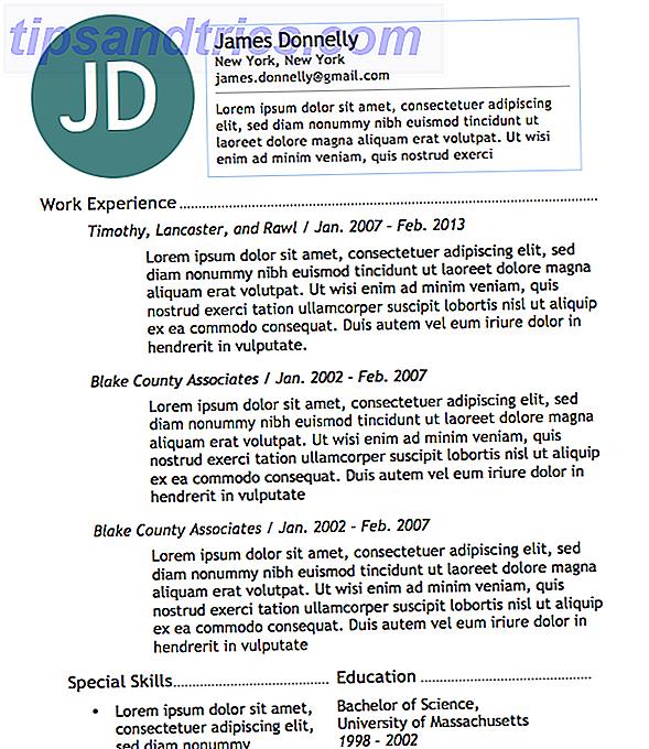 Δωρεάν πρότυπα επανάληψης του Microsoft Word για να σας βοηθήσουν να γείρετε τη δουλειά των ονείρων σας