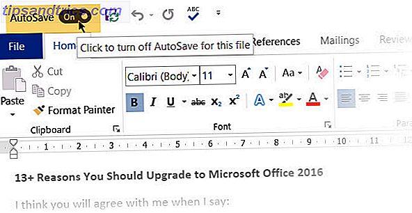 Waarom moet u stoppen met het gebruik van AutoSave in Microsoft Office 365