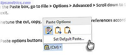 Microsoft Word - Coller l'option