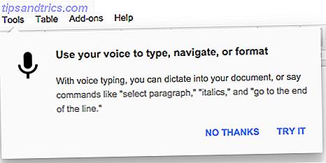 Hvordan stemmetyper er den nye bedste funktion af Google Dokumenter