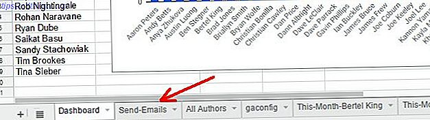 Sådan sender du e-mail i et Google-ark med Google Scripts
