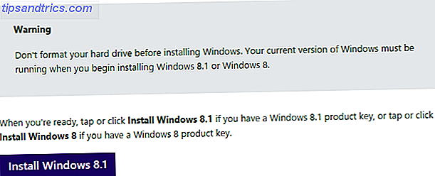 Windows 8.1 Installationsdateien