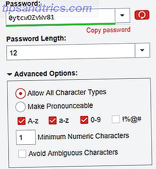 Die Verwendung des gleichen schwachen Passworts für alle Ihre Konten ist ein Rezept für ein Desaster.  Glücklicherweise verfügt LastPass über eine Funktion, die starke, eindeutige Kennwörter für alle Ihre Konten garantiert.