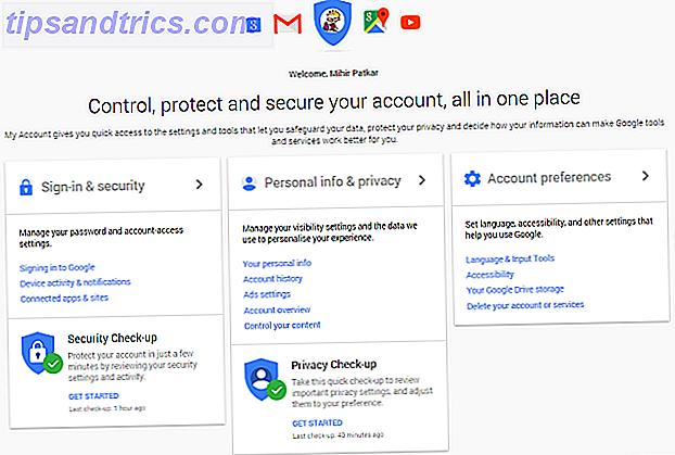 ¿Qué sabe Google sobre usted?  Descubra y administre su privacidad y seguridad