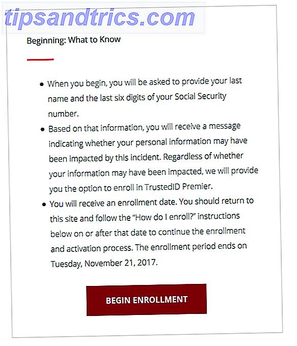 Cómo verificar si sus datos fueron robados en el incumplimiento de Equifax