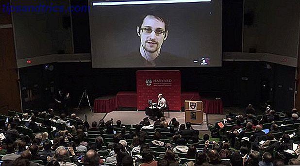 Le dénonciateur Edward Snowden et John DeLong de la NSA ont participé à un symposium.  Bien qu'il n'y ait pas eu de débat, il semble que la NSA ne considère plus Snowden comme un traître.  Qu'est-ce qui a changé?