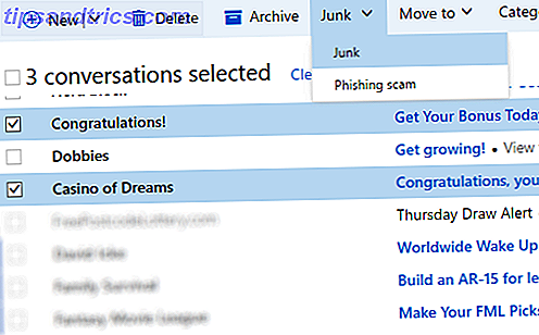 Hotmail er desværre et hotbed for spam og uønskede e-mails.  Her er hvad du kan gøre for at komme rundt det én gang for alle.