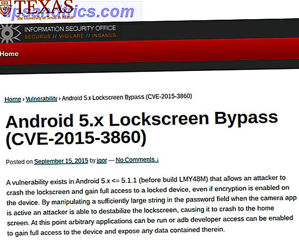 Skift dit kodeord og beskytt dig fra Android Lockscreen Hack