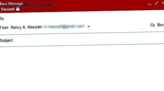 Är du försiktig med Googles snygga ögon, men kan inte få dig att sluta med Gmail?  Använd den här smarta anknytningen för att kryptera dina meddelanden och förhindra att Google läser dem.