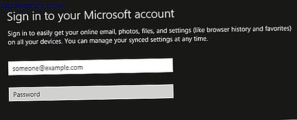 Você tem uma escolha!  A Microsoft não facilitou isso, mas no Windows 8.1 é possível configurar ou alternar para uma conta normal - local e offline - do Windows.  E é fácil!