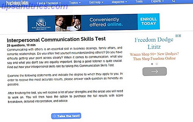 PsychologyToday site