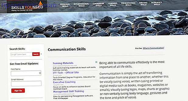 SkillsYouNeed site
