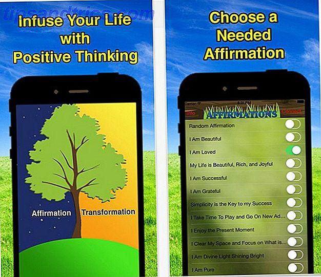 Las autoafirmaciones son poderosos trucos psicológicos que ayudan a superar los pensamientos negativos.  Las autoafirmaciones pueden ayudar a las personas a desempeñarse mejor en el trabajo.  Estas aplicaciones y sitios web te ayudarán a comenzar con declaraciones positivas significativas.