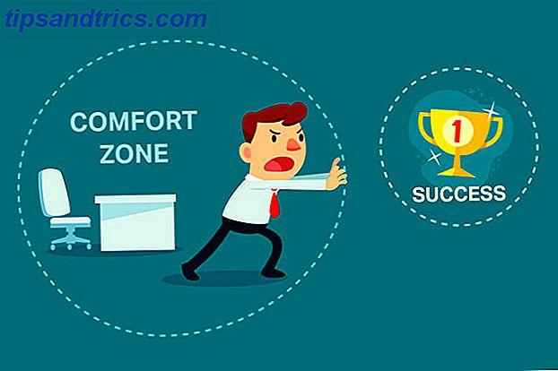 Rester dans la zone de confort se sent en sécurité, mais pour le développement personnel, nous devons sortir de nos zones de confort.  La technologie peut-elle nous montrer comment s'étirer en dehors de nos zones de confort?