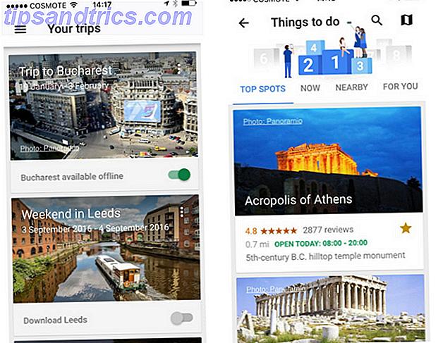 Si vous êtes entravé par l'anxiété du voyage, cet outil unique peut vous aider à faire face.  Google Trips est de loin le plus sous-estimé parmi la foule d'applications de voyage.