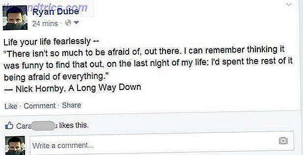 Facebook es una herramienta poderosa.  Úselo para mejorar la vida de sus amigos.