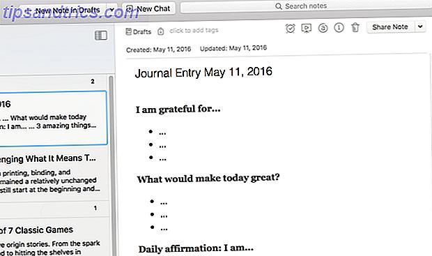 So starten Sie eine Journaling-Gewohnheit mit 7 einfachen Vorlagen