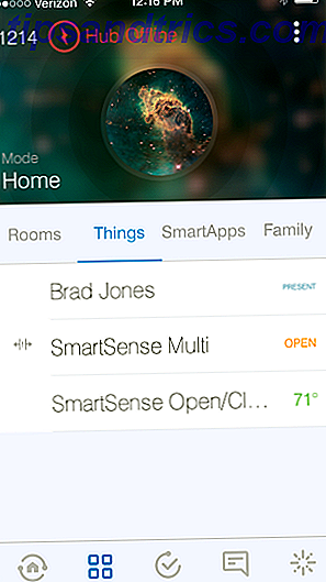 Nouvelle application SmartThings
