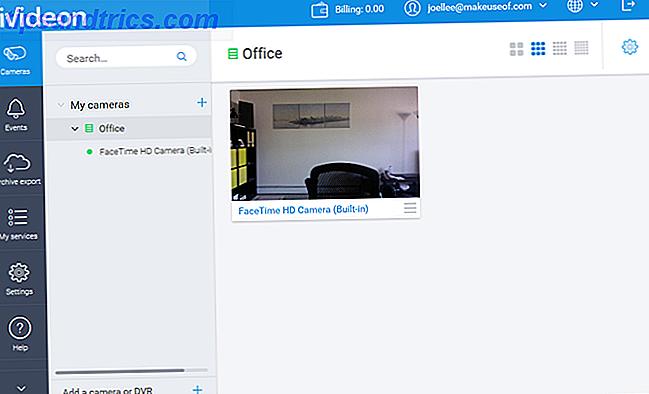 Verwenden Sie Ihre Webcam zur Heimüberwachung mit