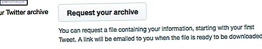 Vill du bygga ett arkiv av någons tweets, inklusive din egen?  Det finns två enkla metoder du kan använda.