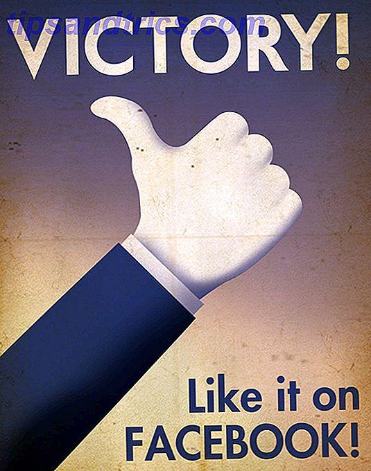 10 Poster persuasivi di propaganda sui social media