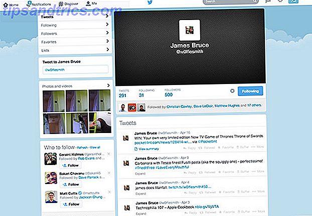 Les nouveaux profils de Twitter sont là: faites-en usage!