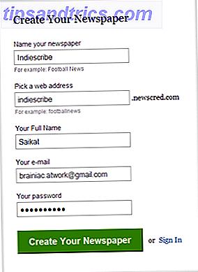Notícias de última hora - Personalize seu próprio jornal on-line com NewsCred