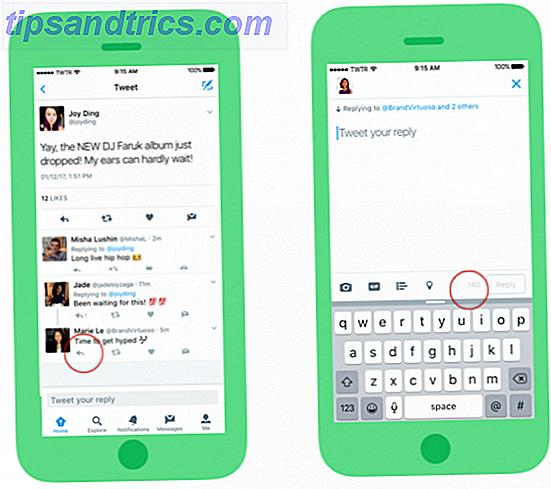 dernière mise à jour de Twitter est une épée à double tranchant: vous pouvez maintenant taper plus dans une réponse, mais vous pouvez aussi être balayés dans les conversations bruyantes.