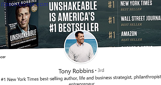 Photo de couverture de Tony Robbins LinkedIn