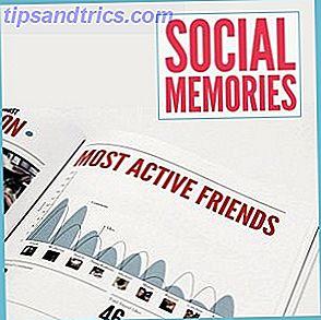 Crie um livro impressionante de 'Memórias Sociais' com seus dados do Facebook