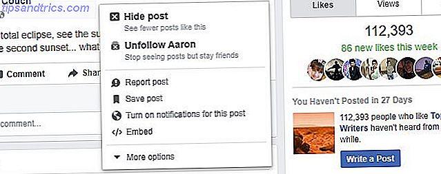symboler på facebook