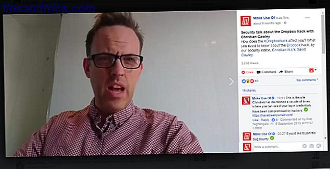 Facebook tiene otra forma de comunicarse con el mundo: a través de su cámara web, que le permite chatear por video directamente a su audiencia.