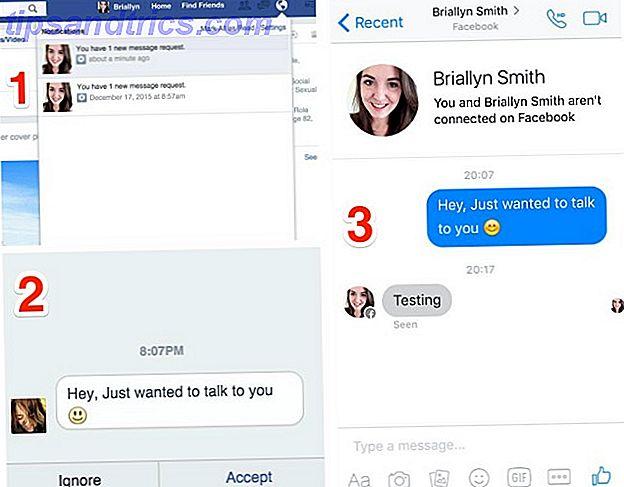 Facebook messenger lesebestätigung nicht befreundet