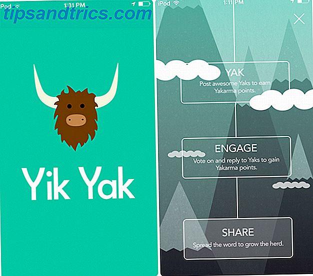 Le Code d'étiquette Yik-Yak non-dit