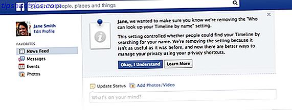 Menschen lassen Ihre Zeitachse finden ist eigentlich gut für die Privatsphäre: Hier ist, warum [wöchentliche Facebook-Tipps]