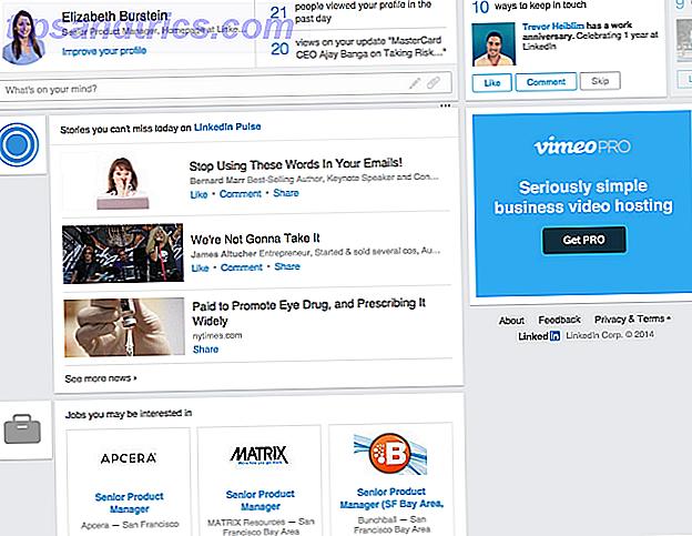 LinkedIn está rediseñando su página principal en un esfuerzo por lograr que los trabajadores participen más.  La idea parece ser separar el contenido de los eventos sociales importantes para las personas con las que está conectado.