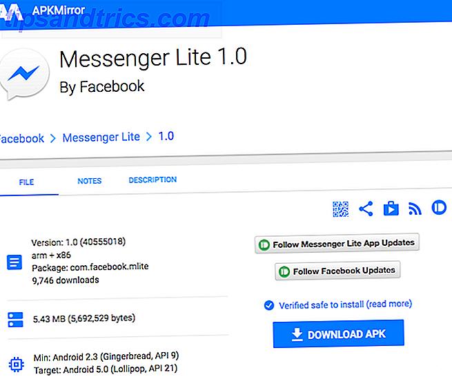 Als uw Android-smartphone te traag werkt of de batterij te snel leegraakt, is een app mogelijk de schuldige: Messenger.  Het goede nieuws is dat Facebook Messenger Lite heeft gelanceerd.