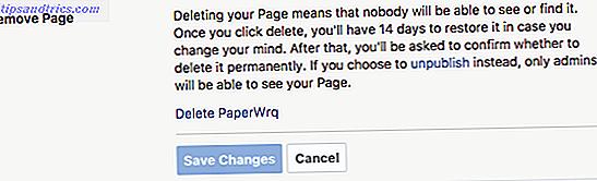 Como excluir uma página comercial do Facebook