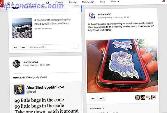 Quale è meglio, Facebook o Google+?  Anche qui a MakeUseOf, non possiamo essere del tutto d'accordo.