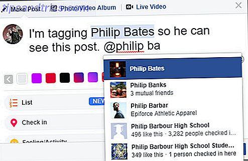 Si vous utilisez Facebook, vous devez connaître ces trois moyens essentiels pour étiqueter les amis dans les messages et les photos.