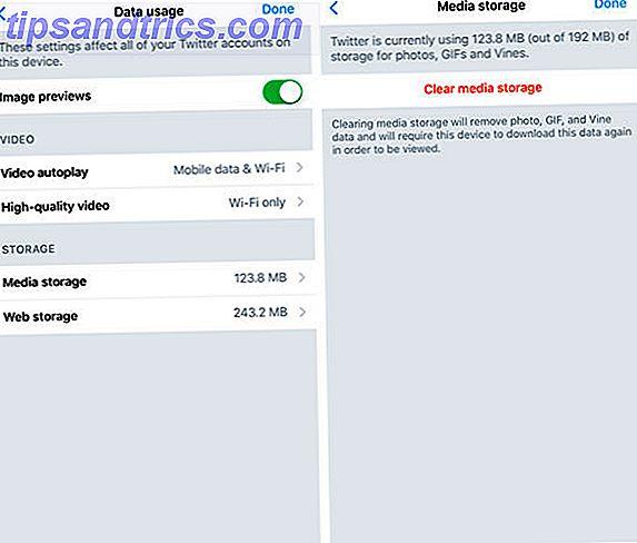 Sådan Fix Twitter fra spilde plads på Android og iPhone