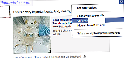 Siden du blev medlem af Facebook, har du sandsynligvis venner med mange og mange mennesker af mange forskellige grunde - nogle kan ikke være meget relevante længere.  Det er tid til at rydde dit foder, er det ikke?