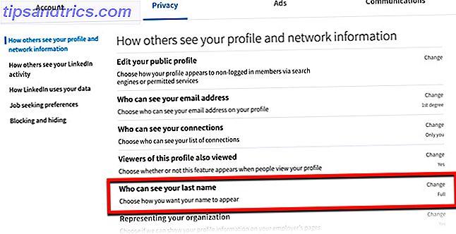 4b421596ab31 Πώς να κρύψει το επώνυμό σας στο LinkedIn - tipsandtrics.com